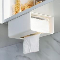 黏貼式抽取式衛生紙掛架 創意廚房必備紙巾掛架 衛生紙收納架 收納盒