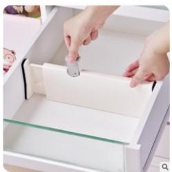 伸縮式抽屜隔板 創意自由組合分層隔板 衣櫃櫥櫃抽屜收納隔板