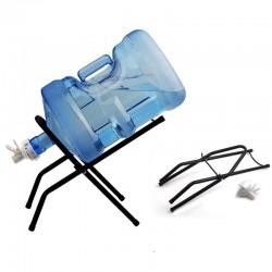 摺疊桶裝水支架 折疊簡易水桶支架 戶外必備桶裝水架