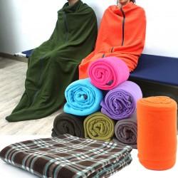 輕薄保暖透氣睡袋 戶外旅行必備毛毯 超保暖冷氣房必備毯子 睡袋