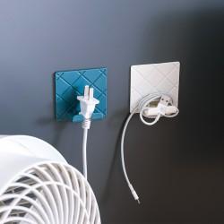 可折疊插頭掛勾 電源線插頭掛勾 創意多功能摺疊掛勾 收納架