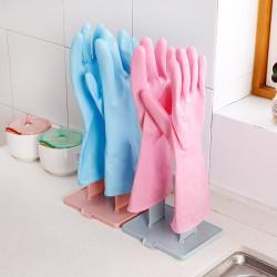 居家可拆式手套抹布曬架 創意多功能廚房用品置物架 手套收納架