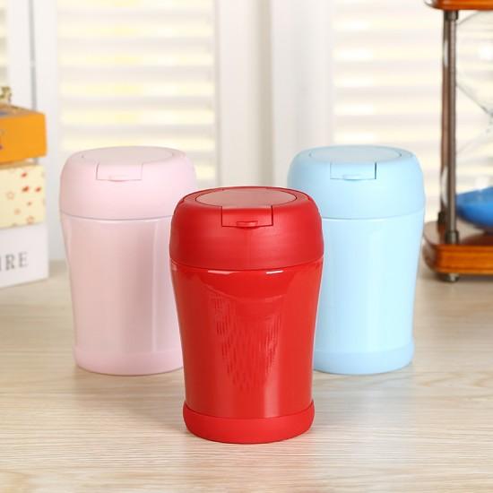 316不鏽鋼雙層悶燒罐 手提真空悶燒壺 便當盒 繽紛保溫悶燒杯
