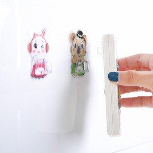 壁掛式遙控器收納掛勾 創意壁掛式牆面掛鈎 黏貼式遙控器掛鉤