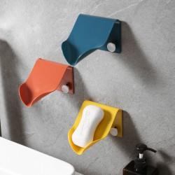 簡約瀝水肥皂架 壁掛式瀝水香皂收納架 浴室必備置物架 香皂架