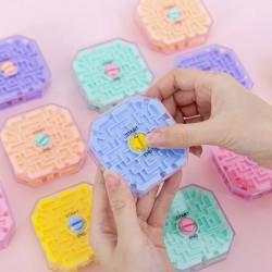 3D迷宮益智玩具 創意智力十面滾珠迷宮玩具  學生獎品 兒童節禮品