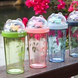 創意飛機隨手杯 學生塑膠水壺 創意飛機玩具水壺