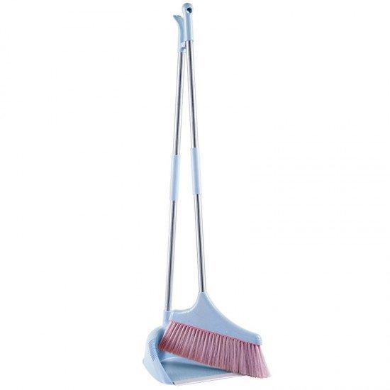 簡約掃把畚斗組 防風掃把組 居家必備掃把畚箕組 清潔打掃必備