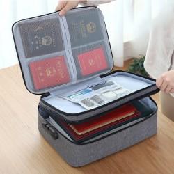 多功能旅行收納包 大容量文件護照整理包 證件收納包 旅行必備文件包