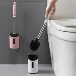不鏽鋼長柄馬桶刷 洗廁所清潔刷 壁掛式馬桶刷 浴廁必備馬桶刷