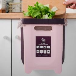 多功能摺疊伸縮垃圾桶 廚房必備廚餘桶 創意車用掛式垃圾桶