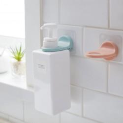 壁掛式按壓瓶掛勾 創意浴室沐浴乳掛架 浴室收納置物架