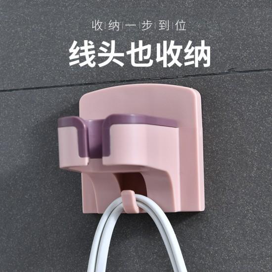 簡約吹風機置物架 浴室必備吹風機架 雙色吹風機收納架