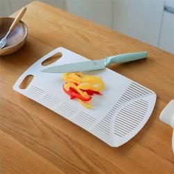 多功能料理砧板 可彎曲切菜板 創意手卷料理砧板 瀝水砧板