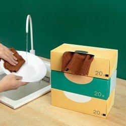 抽取式清潔抹布 廚房必備盒裝抽取式洗碗布 非一次性抹布 乾濕兩用