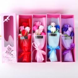 精美香皂花束禮盒 玫瑰花香皂花束 情人節必備 母親節必備 畢業季
