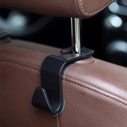 隱藏式汽車掛勾 簡約造型多功能車用小掛勾 汽車掛勾 創意椅背掛鉤