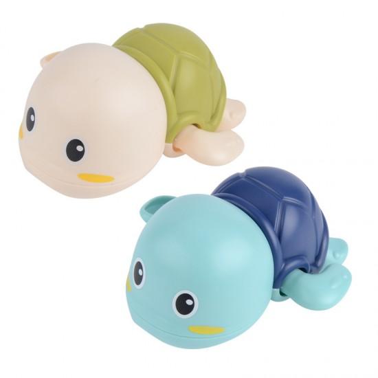 小烏龜洗澡玩具 可愛海龜造型小玩具 創意造型兒童洗澡玩具 烏龜寶寶玩具