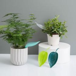 樹葉造型盆栽澆水器 創意樹葉造型澆水漏斗 盆栽加長導流水管 澆花器