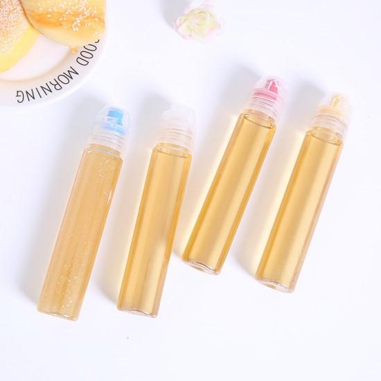 簡約PVC蜂蜜分裝瓶 多功能擠壓沙拉醬料瓶 創意擠壓蜂蜜分裝瓶