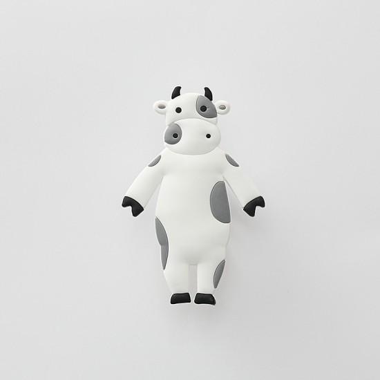 可愛動物造型掛勾 動物造型PVC矽膠掛鉤 創字造型可彎曲掛勾