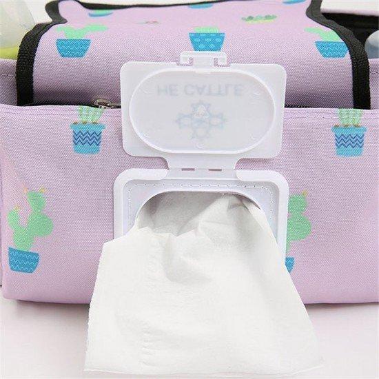 多功能推車掛袋 嬰兒推車分隔收納袋 創意多功能媽媽包 整理袋