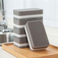 雙面海綿清潔刷 廚房必備洗碗海綿百潔布 雙面洗鍋刷 洗碗刷 菜瓜布