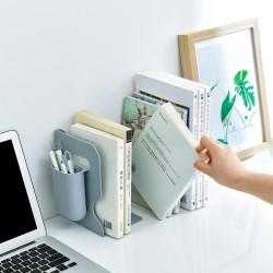 創意伸縮式書架 書桌必備伸縮整理置物架 辦公室書桌必備書架筆筒