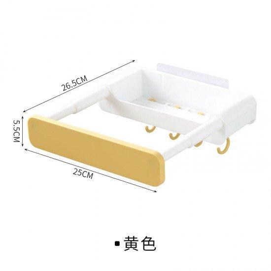 伸縮式臉盆收納架 浴室必備洗臉盆架 宿舍臉盆伸縮架 架子