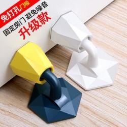 塑膠黏貼式靜音門檔 居家必備吸入式緩衝墊 創意造型靜音門檔