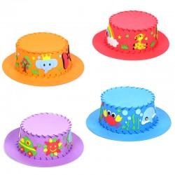DIY創意遮陽帽 手工製作兒童帽子 益智玩具材料包