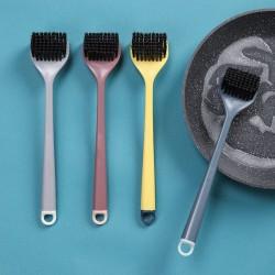 創意雙色長柄清潔刷 居家必備去污洗鍋刷 可掛式多功能小刷子