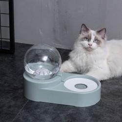 寵物球形自動補水碗 創意造型寵物飲水器餵食器 狗狗貓咪自動飲水器