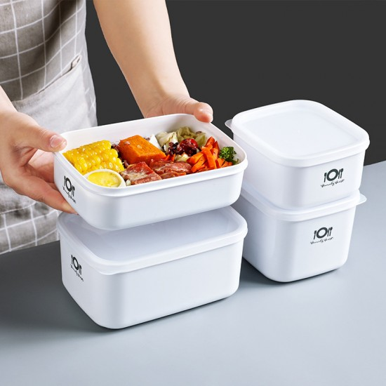 簡約密封保鮮盒 多用途食物保鮮收納盒 食品保鮮收納盒
