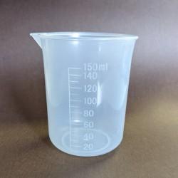 PP量杯150ml 刻度量杯 計量杯 塑膠燒杯