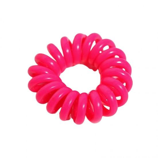 (10入)小號糖果色電話線髮圈 不留綁痕 不咬髮髮束