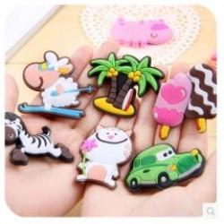 (3入) 可愛立體動物冰箱貼磁貼