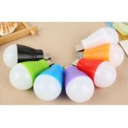 創意節能USB小燈泡 便攜式LED小夜燈 照明燈 可接行動電源