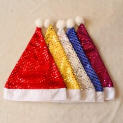 亮片聖誕帽 高檔聖誕帽  聖誕派對用品 聖誕節必備裝飾品
