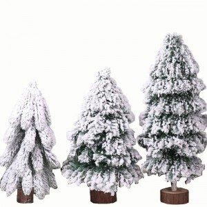 浪漫純白雪花聖誕樹 裝飾小聖誕樹 聖誕節佈置【團購買越多越便宜】