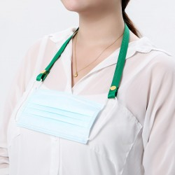 口罩素色防丟帶 口罩眼鏡掛繩 卡扣式口罩掛繩防丟帶 掛袋 固定帶